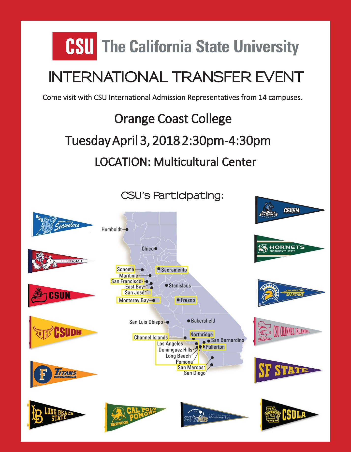 University Transfer Services for OCC Students